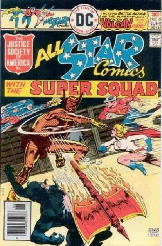Cover of All-Star Comics (Vol 1) #60. One of 250,000 Vintage American Comics on sale from Krypton!