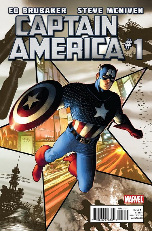 Cover of Captain America (Vol 6) #1. One of 250,000 Vintage American Comics on sale from Krypton!