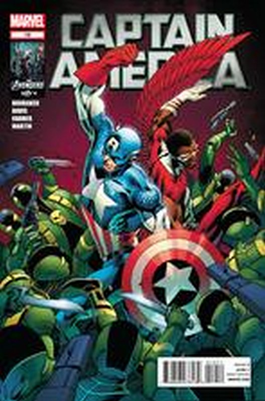 Cover of Captain America (Vol 6) #10. One of 250,000 Vintage American Comics on sale from Krypton!