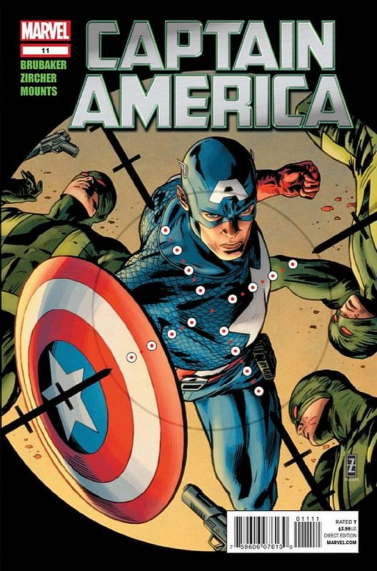 Cover of Captain America (Vol 6) #11. One of 250,000 Vintage American Comics on sale from Krypton!