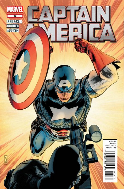 Cover of Captain America (Vol 6) #12. One of 250,000 Vintage American Comics on sale from Krypton!