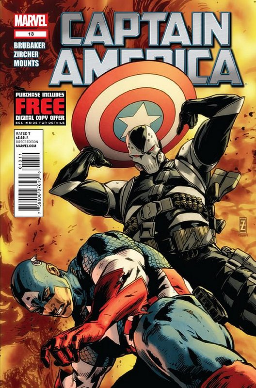 Cover of Captain America (Vol 6) #13. One of 250,000 Vintage American Comics on sale from Krypton!