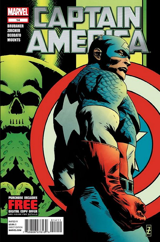 Cover of Captain America (Vol 6) #14. One of 250,000 Vintage American Comics on sale from Krypton!