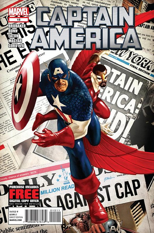 Cover of Captain America (Vol 6) #15. One of 250,000 Vintage American Comics on sale from Krypton!