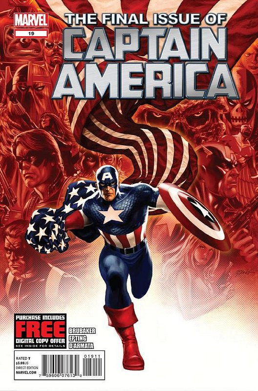 Cover of Captain America (Vol 6) #19. One of 250,000 Vintage American Comics on sale from Krypton!