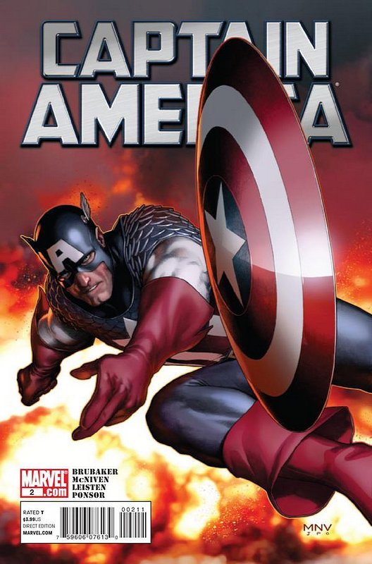 Cover of Captain America (Vol 6) #2. One of 250,000 Vintage American Comics on sale from Krypton!