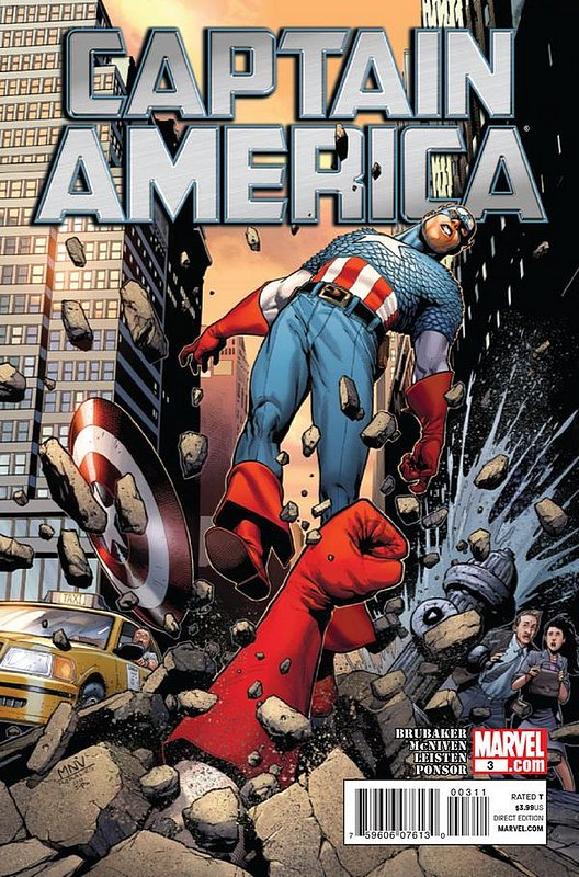 Cover of Captain America (Vol 6) #3. One of 250,000 Vintage American Comics on sale from Krypton!