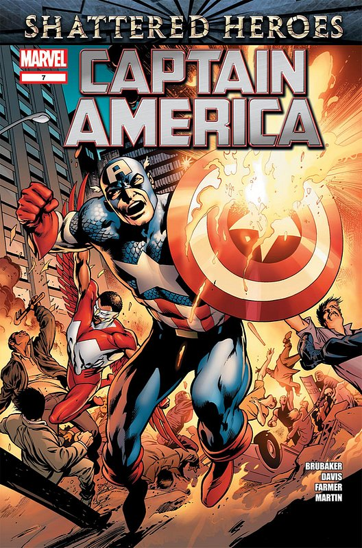 Cover of Captain America (Vol 6) #7. One of 250,000 Vintage American Comics on sale from Krypton!