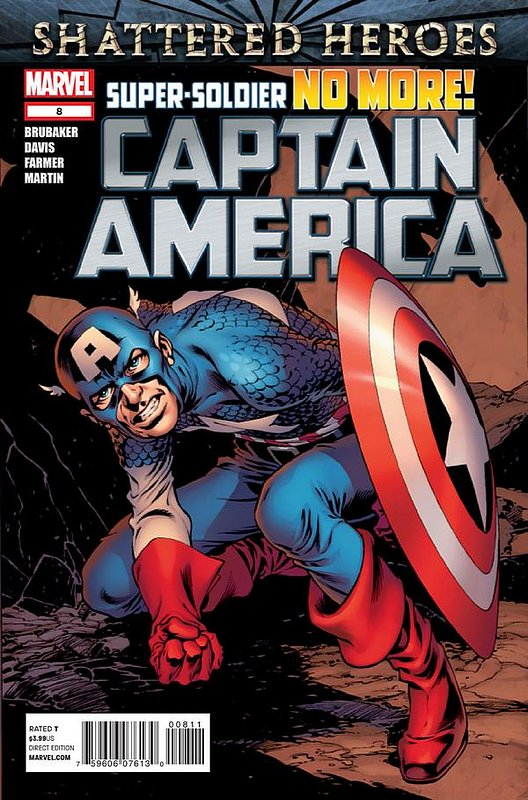 Cover of Captain America (Vol 6) #8. One of 250,000 Vintage American Comics on sale from Krypton!