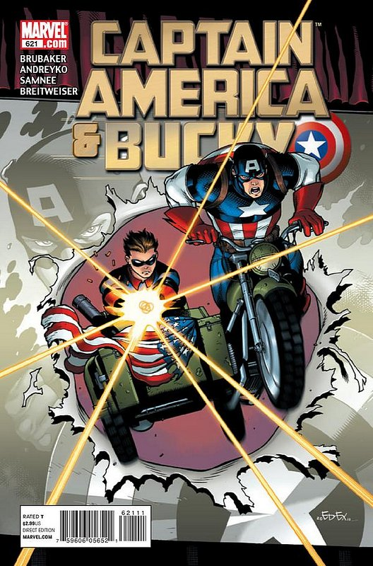 Cover of Captain America & Bucky #621. One of 250,000 Vintage American Comics on sale from Krypton!