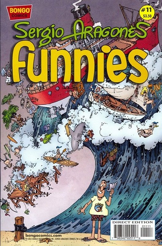 Cover of Sergio Argones Funnies #11. One of 250,000 Vintage American Comics on sale from Krypton!