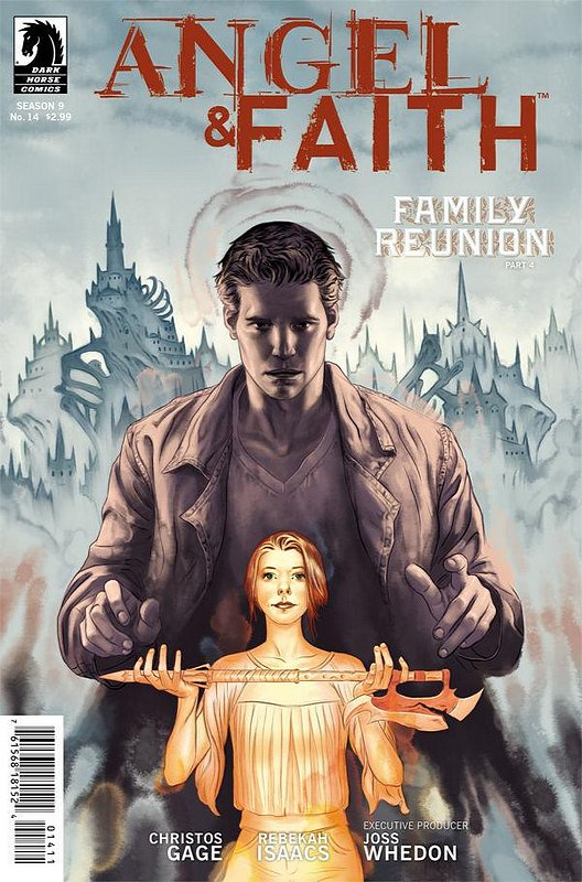 Cover of Angel & Faith #14. One of 250,000 Vintage American Comics on sale from Krypton!