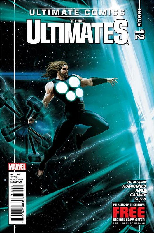 Cover of Ultimate Comics Ultimates (Vol 1) #12. One of 250,000 Vintage American Comics on sale from Krypton!