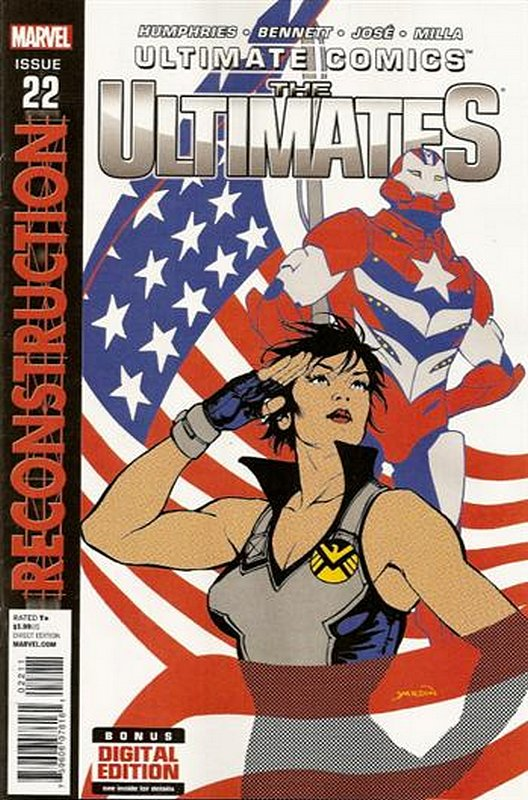 Cover of Ultimate Comics Ultimates (Vol 1) #22. One of 250,000 Vintage American Comics on sale from Krypton!