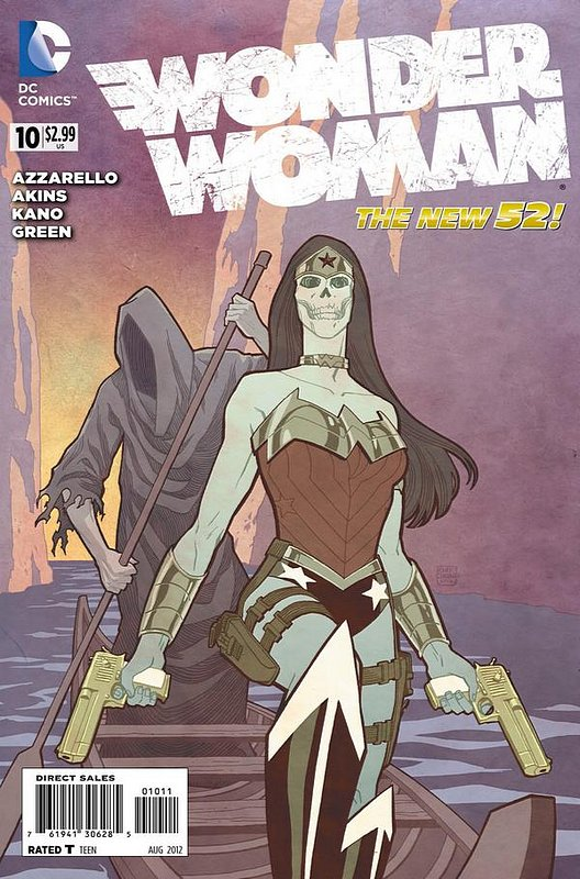 Cover of Wonder Woman (Vol 4) #10. One of 250,000 Vintage American Comics on sale from Krypton!