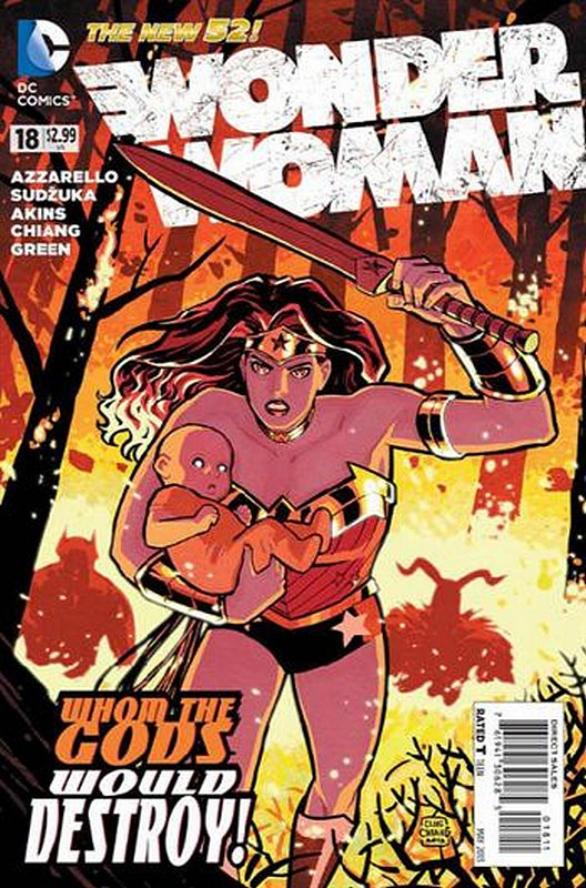 Cover of Wonder Woman (Vol 4) #18. One of 250,000 Vintage American Comics on sale from Krypton!