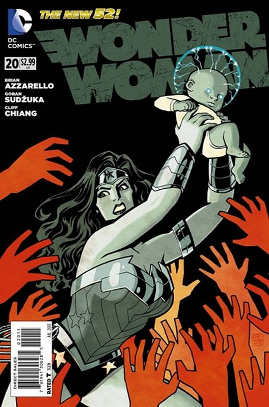 Cover of Wonder Woman (Vol 4) #20. One of 250,000 Vintage American Comics on sale from Krypton!