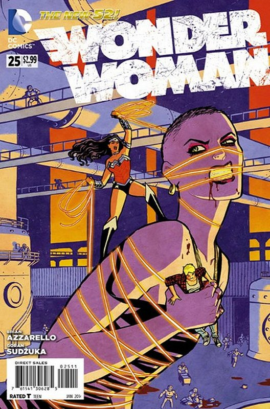 Cover of Wonder Woman (Vol 4) #25. One of 250,000 Vintage American Comics on sale from Krypton!