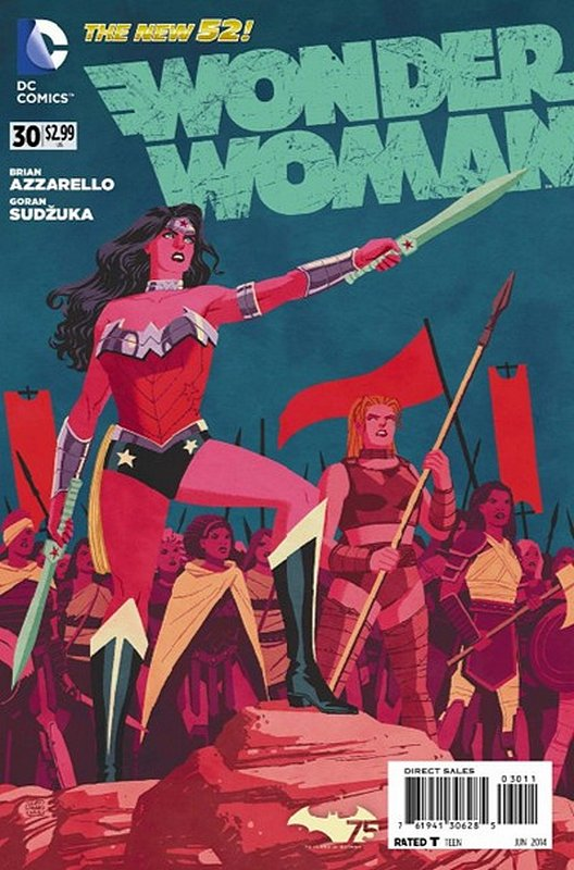 Cover of Wonder Woman (Vol 4) #30. One of 250,000 Vintage American Comics on sale from Krypton!