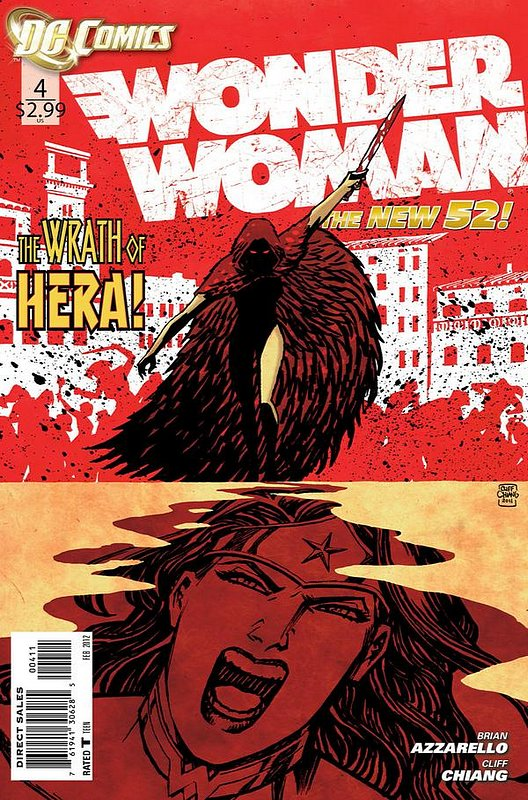 Cover of Wonder Woman (Vol 4) #4. One of 250,000 Vintage American Comics on sale from Krypton!