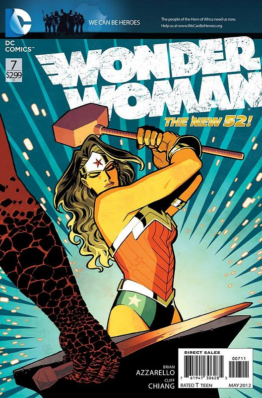 Cover of Wonder Woman (Vol 4) #7. One of 250,000 Vintage American Comics on sale from Krypton!
