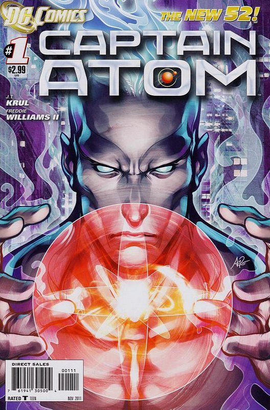 Cover of Captain Atom (DC) (Vol 2) #1. One of 250,000 Vintage American Comics on sale from Krypton!