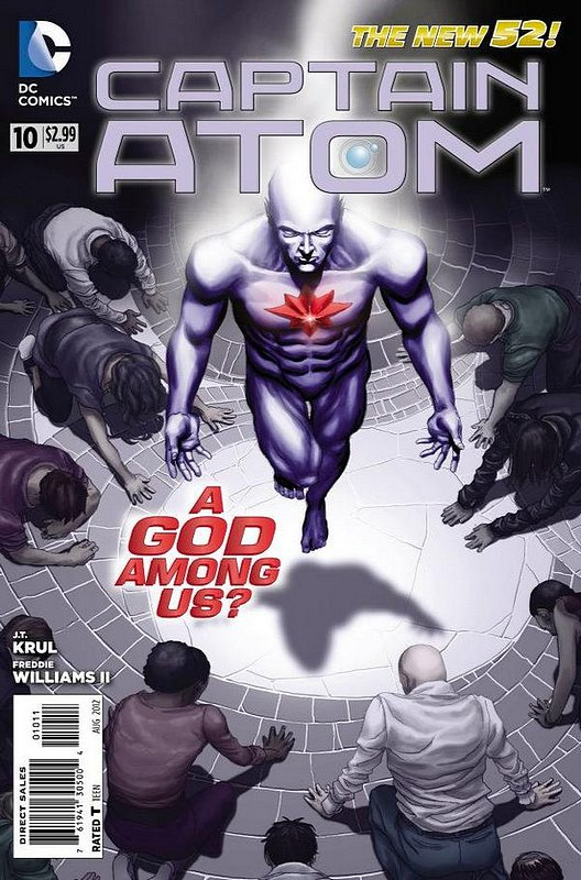 Cover of Captain Atom (DC) (Vol 2) #10. One of 250,000 Vintage American Comics on sale from Krypton!