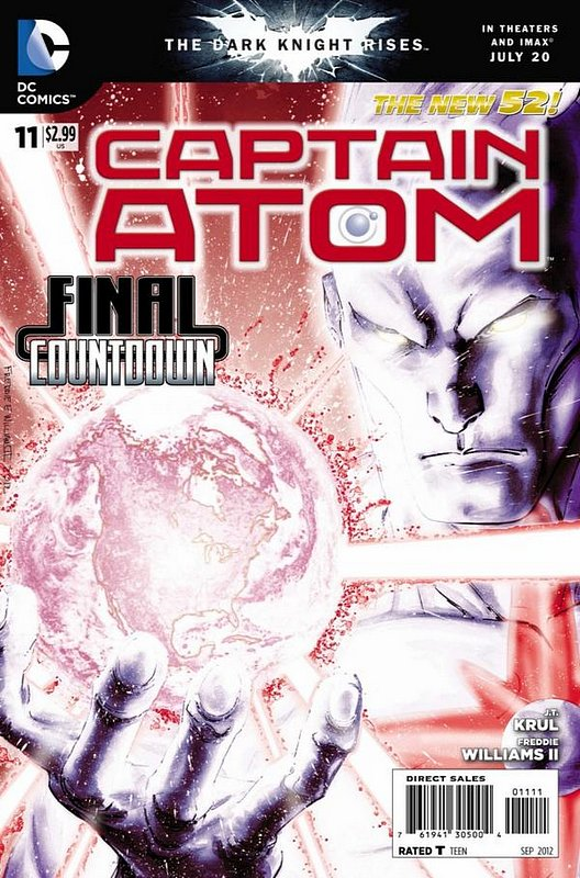 Cover of Captain Atom (DC) (Vol 2) #11. One of 250,000 Vintage American Comics on sale from Krypton!