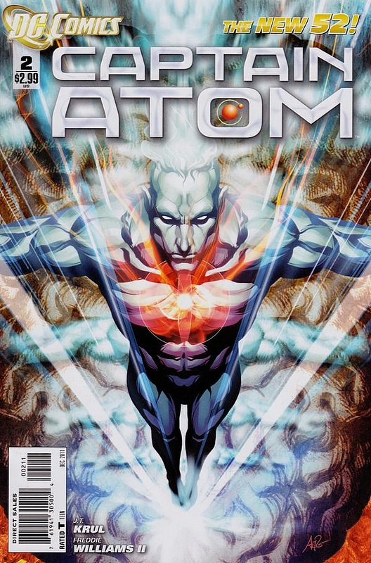 Cover of Captain Atom (DC) (Vol 2) #2. One of 250,000 Vintage American Comics on sale from Krypton!