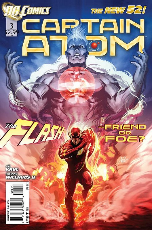 Cover of Captain Atom (DC) (Vol 2) #3. One of 250,000 Vintage American Comics on sale from Krypton!