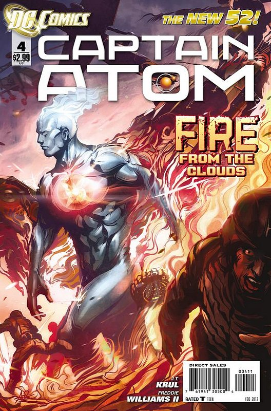 Cover of Captain Atom (DC) (Vol 2) #4. One of 250,000 Vintage American Comics on sale from Krypton!