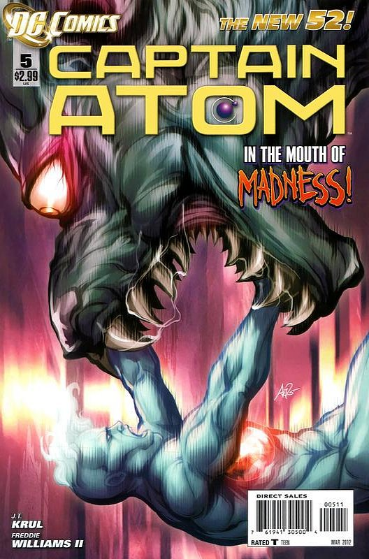 Cover of Captain Atom (DC) (Vol 2) #5. One of 250,000 Vintage American Comics on sale from Krypton!