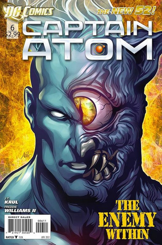 Cover of Captain Atom (DC) (Vol 2) #6. One of 250,000 Vintage American Comics on sale from Krypton!