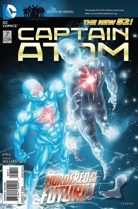 Cover of Captain Atom (DC) (Vol 2) #7. One of 250,000 Vintage American Comics on sale from Krypton!