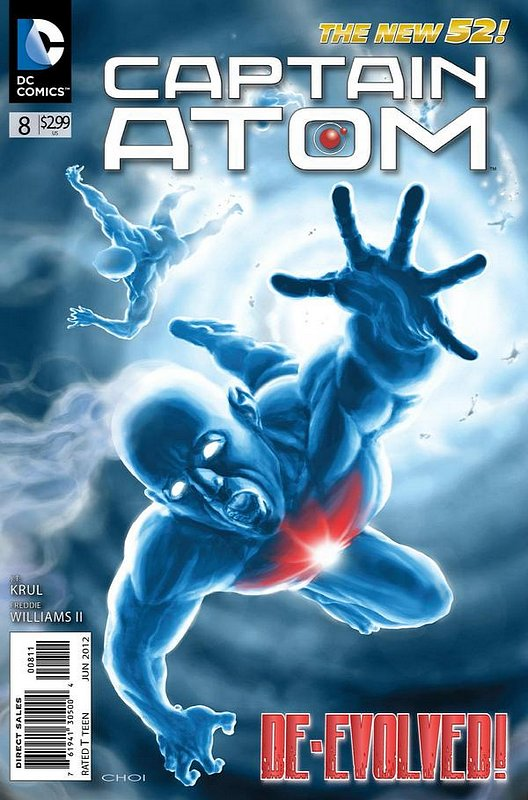 Cover of Captain Atom (DC) (Vol 2) #8. One of 250,000 Vintage American Comics on sale from Krypton!
