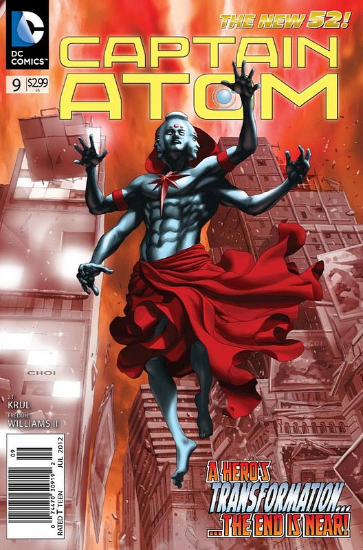 Cover of Captain Atom (DC) (Vol 2) #9. One of 250,000 Vintage American Comics on sale from Krypton!