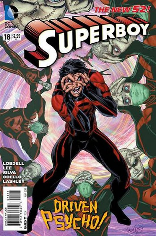Cover of Superboy (Vol 5) #18. One of 250,000 Vintage American Comics on sale from Krypton!