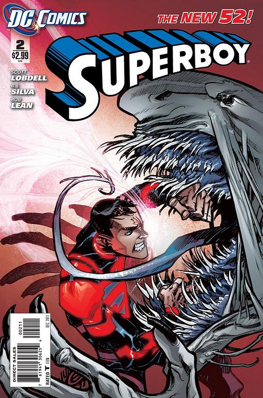 Cover of Superboy (Vol 5) #2. One of 250,000 Vintage American Comics on sale from Krypton!