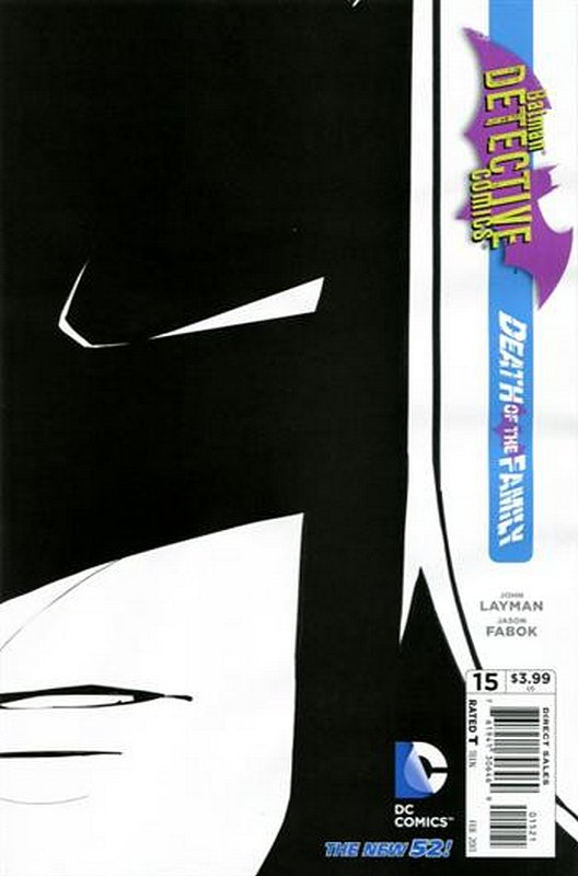 Cover of Detective Comics (Vol 2) #15. One of 250,000 Vintage American Comics on sale from Krypton!