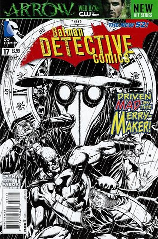 Cover of Detective Comics (Vol 2) #17. One of 250,000 Vintage American Comics on sale from Krypton!