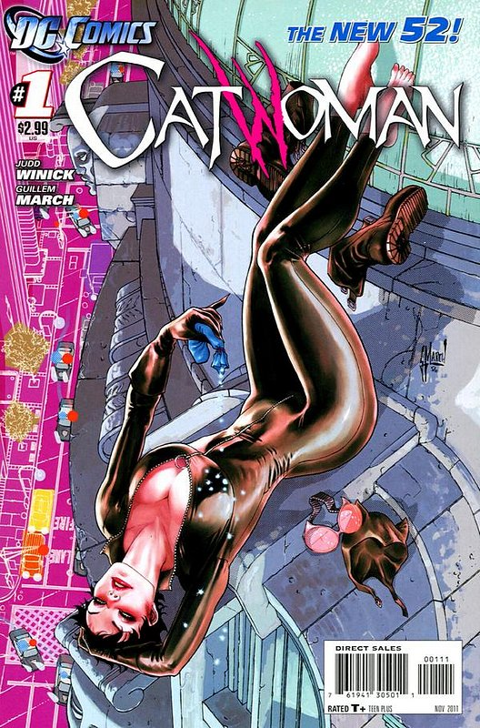 Cover of Catwoman (Vol 3) #1. One of 250,000 Vintage American Comics on sale from Krypton!