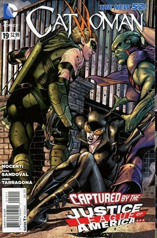 Cover of Catwoman (Vol 3) #19. One of 250,000 Vintage American Comics on sale from Krypton!
