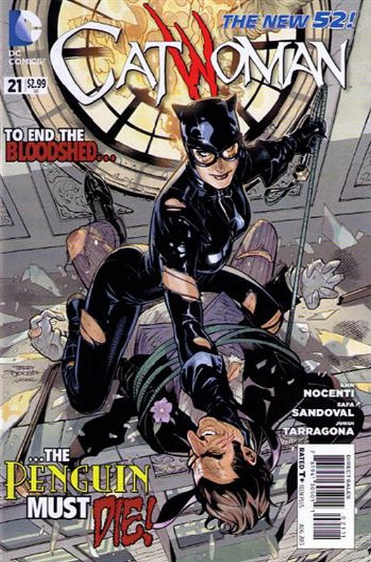 Cover of Catwoman (Vol 3) #21. One of 250,000 Vintage American Comics on sale from Krypton!