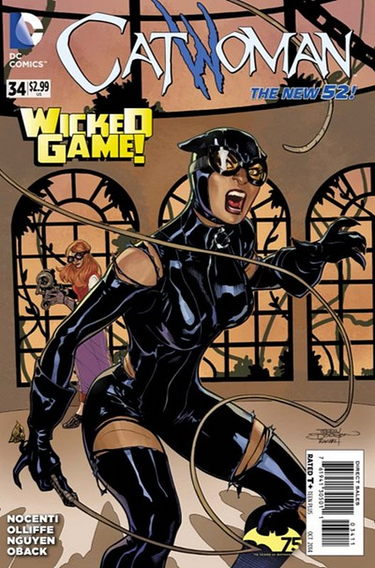 Cover of Catwoman (Vol 3) #34. One of 250,000 Vintage American Comics on sale from Krypton!