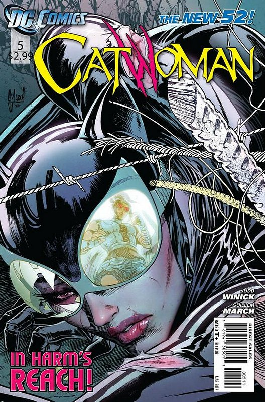 Cover of Catwoman (Vol 3) #5. One of 250,000 Vintage American Comics on sale from Krypton!