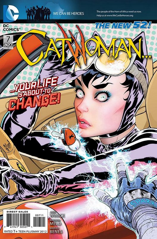 Cover of Catwoman (Vol 3) #7. One of 250,000 Vintage American Comics on sale from Krypton!