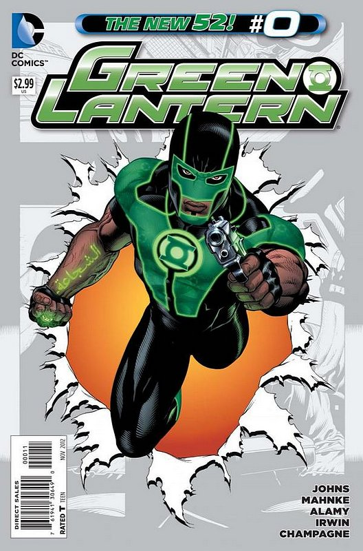 Cover of Green Lantern (Vol 5) #0. One of 250,000 Vintage American Comics on sale from Krypton!