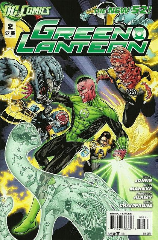 Cover of Green Lantern (Vol 5) #2. One of 250,000 Vintage American Comics on sale from Krypton!