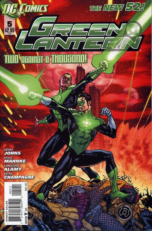 Cover of Green Lantern (Vol 5) #5. One of 250,000 Vintage American Comics on sale from Krypton!