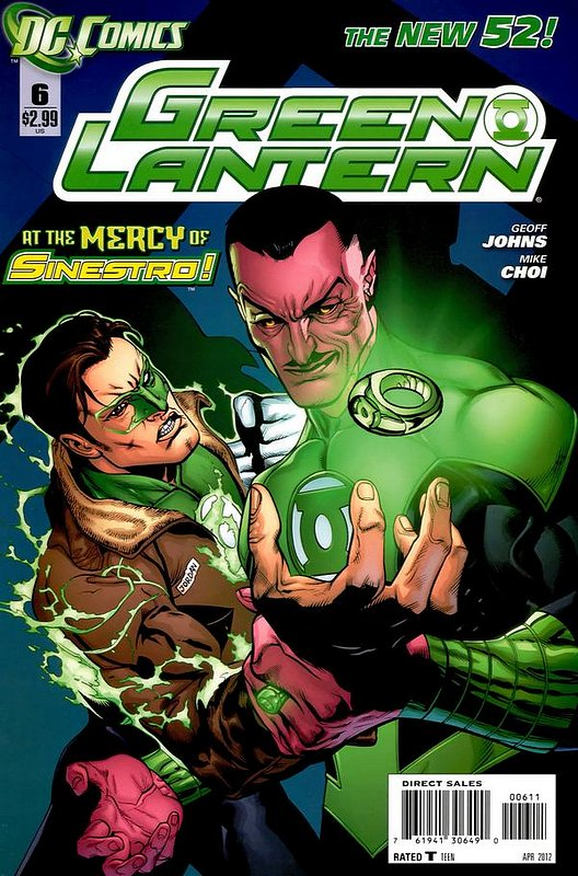 Cover of Green Lantern (Vol 5) #6. One of 250,000 Vintage American Comics on sale from Krypton!